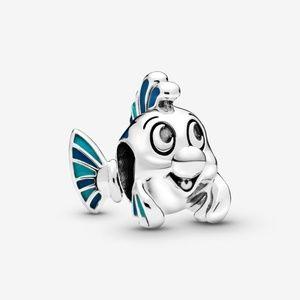 ~NEW~ Pandora Disney Little Mermaid Flounder Charm